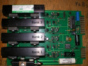 Close up of the Board with Pins Labled